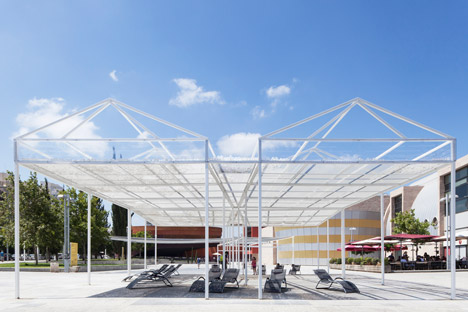 Cloud Seeding Pavilion by MODU