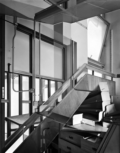 Constructed Images: Simon Kennedy distorts the interior of a disused London laboratory