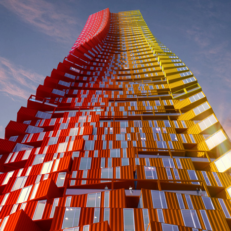 Container Skyscraper, Mumbai by CRG Architects