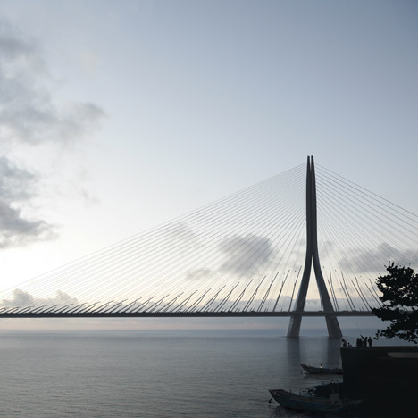 Danjiang Bridge by Zaha Hadid