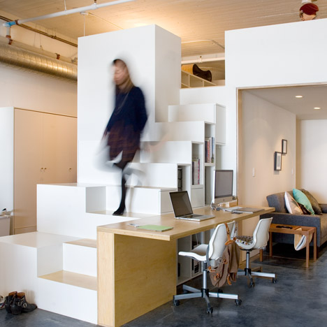 CHA:COL creates a live-work space in LA using hacked Ikea products