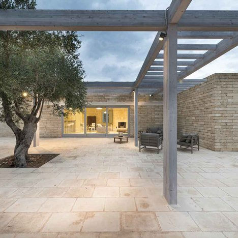 Massimo Iosa Ghini References Historic Italian Architecture For Holiday Home In Puglia