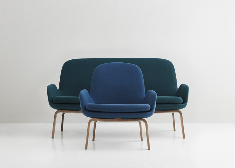 Fabulous Normann Copenhagen Responds To Small Sofa Trend With Era Squirreltailoven Fun Painted Chair Ideas Images Squirreltailovenorg