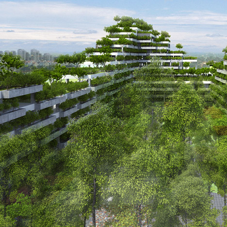 Vo Trong Nghia unveils tree-covered university campus for Ho Chi Minh City