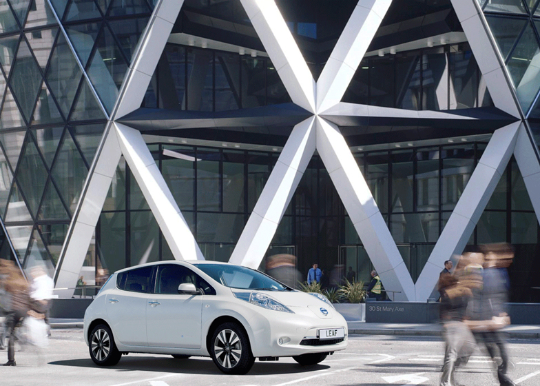 Foster + Partners and Nissan to redesign electric car fuel stations
