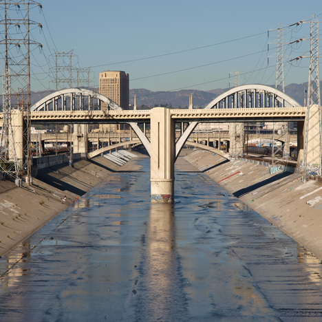 Frank Gehry revealed as designer of masterplan for LA River