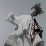 Rui Xu blends ancient Chinese dress and contemporary couture for fashion exhibition