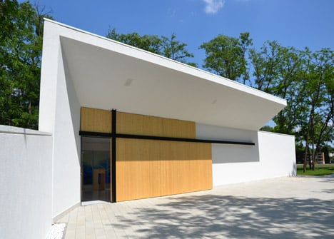 Funeral Home, Hungary by L.Art Architectural Office