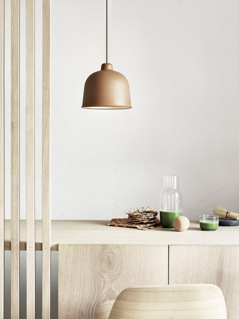 Bamboo Grain lamp by Jens Fager for Muuto