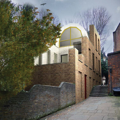 Hampstead house for Living Architecture by Ordinary Architecture