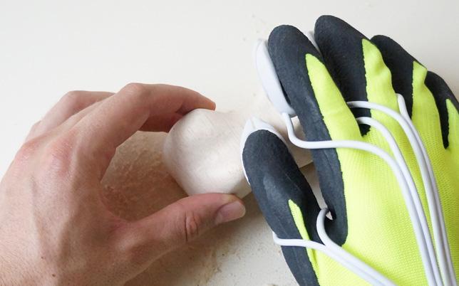 Visual prototype of Morten Grönning's Happaratus power glove