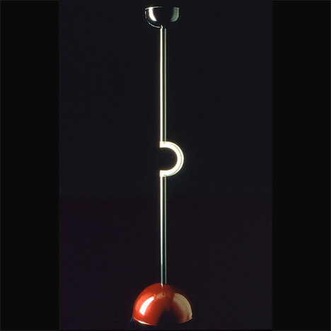 Martine Bedin's 1983 Holiday floor lamp