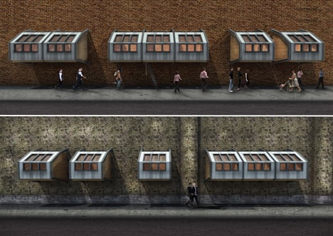 James Furzer to crowdfund parasitic sleeping pods for London's homeless