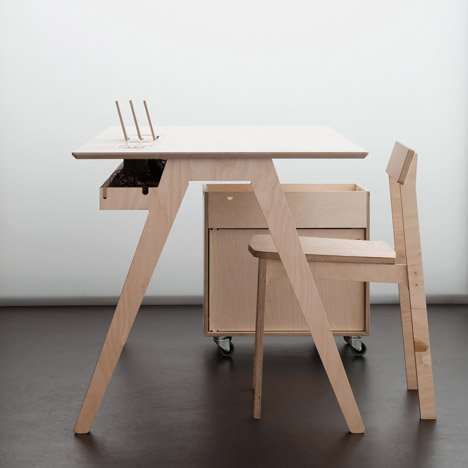 Opendesk Provides Opensource Furniture For Kano Office - Source furniture