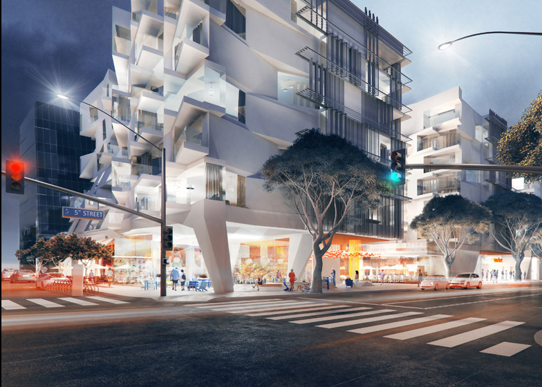 500 Broadway, Santa Monica by Koning Eizenberg LA A+D museum exhibition about shelter
