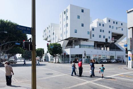 LA A+D museum exhibition about shelter