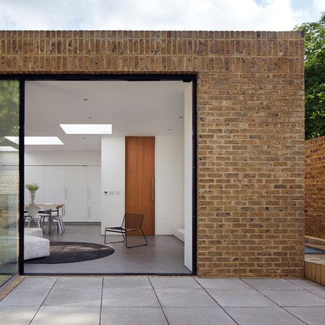 Phillips Tracey replaces a derelict London dental surgery with a simple brick house