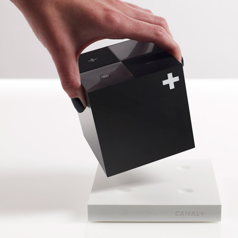 Yves Behar debuts cube-shaped set-top box for Canal+