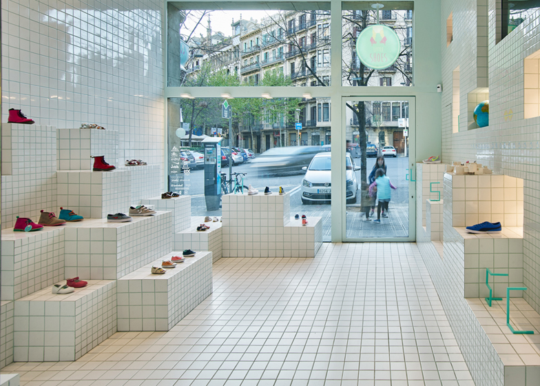 Little Shoes store interior by Nabito Architects