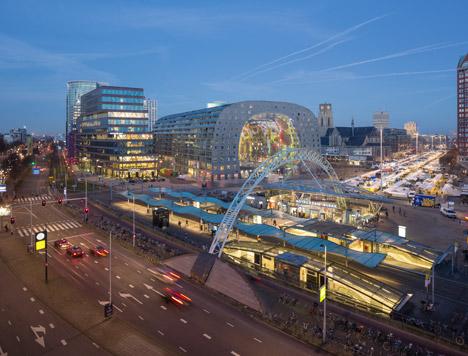Markthal in Rotterdam by MVRDV