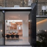 Paul Archer Design pairs glass with marble for extension to a remodelled London townhouse