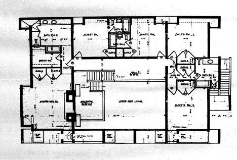 Paul Rudolph Milam Residence renders by Dan Huh