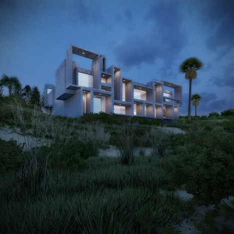 Visual artist recreates Paul Rudolph house as the architect intended it to be