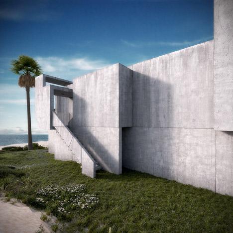 Artist Recreates Original Design Of Paul Rudolph S Milam House
