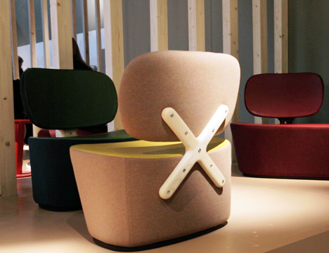 X-Chair by Richard Hutten