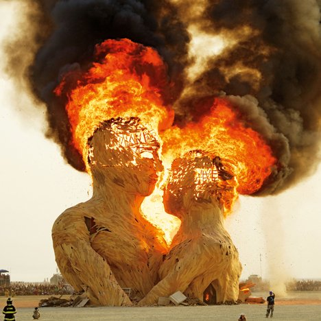 "NK Guy documents 16 years of creating and destroying Burning Man's temporary ""city"""