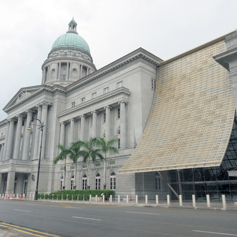 StudioMilou converts Singapore city hall into national art gallery