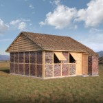 Shigeru Ban designs modular shelters for Nepal earthquake victims