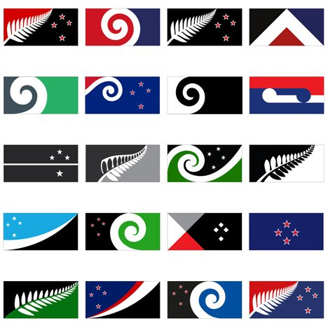 new zealand announces 40 potential new flag designs flag design ideas - Flag Design Ideas