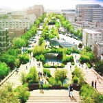 Mexican architects to create public park in the centre of a busy Mexico City road