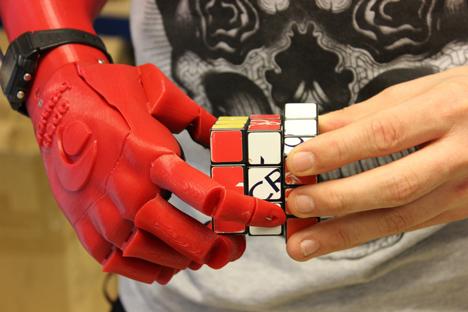 3D-printed robotic hand by Open Bionics