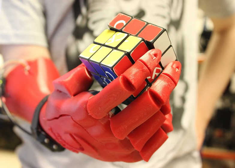 3D-printed robotic hand by Open Bionics