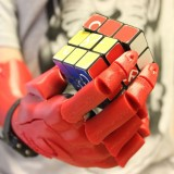 3D-printed robotic hand wins 2015 UK James Dyson Award