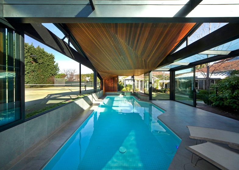 Origami Poolhouse by Made Group