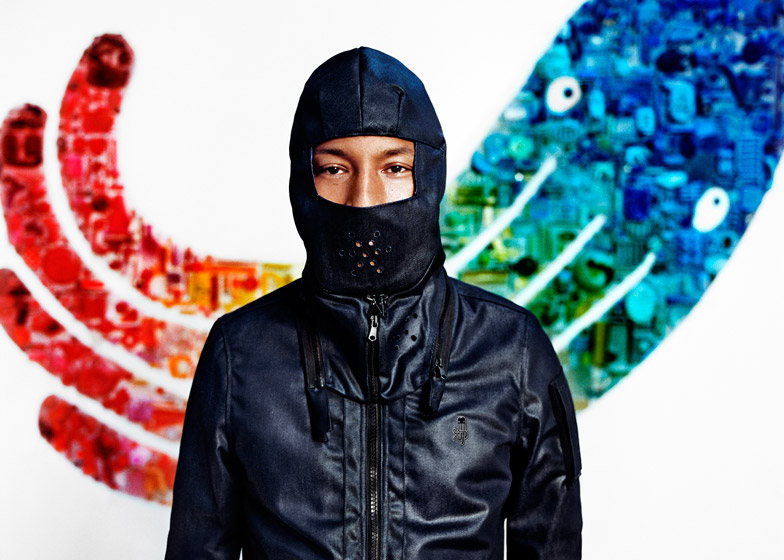Pharrell Williams for G-Star RAW AW 2015