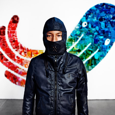 Pharrell Williams unveils latest ocean-plastic clothing range for G-Star RAW