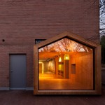 "UTAA extends South Korean children's centre with ""a house within a house"""