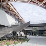 Sculptural roof tops new arts centre designed by wHY for California's Pomona College