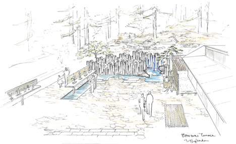 Portland Japanese Garden by Kengo Kuma and THA Architecture
