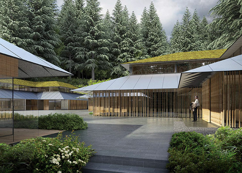 Kengo kuma designs expansion for portland japanese garden for Japanese garden architecture