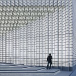 UUfie updates facade of Shanghai boutique with pixellated grid of glowing glass