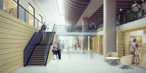 Preston Bus Station redevelopment by John Puttick Associates