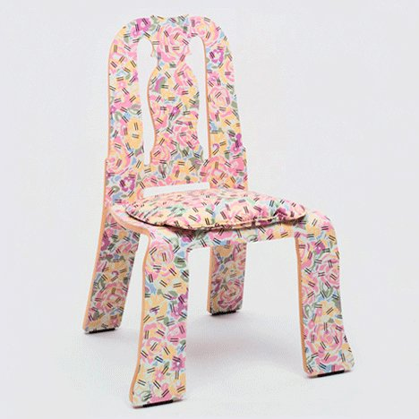 Postmodern design: Queen Anne chair by Robert Venturi and Denise Scott Brown
