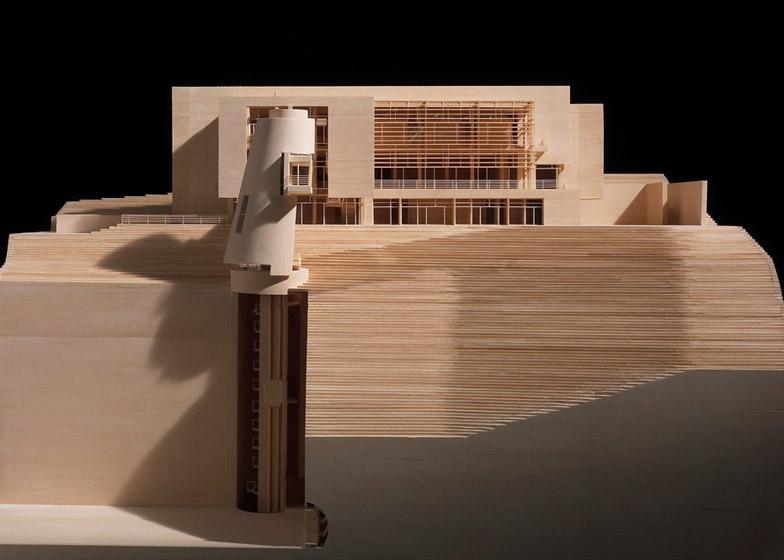 RM Model Museum by Richard Meier