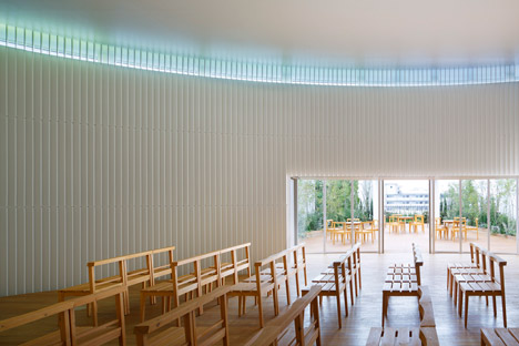 Rainbow Chapel by Kubo Tsushima Architects