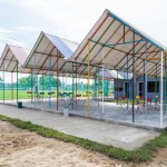 H&P Architects sources recycled materials to build Re-ainbow community shelter in Vietnam